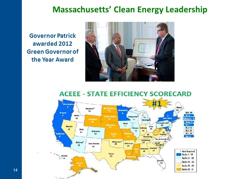 Massachusetts' Clean Energy Leadership