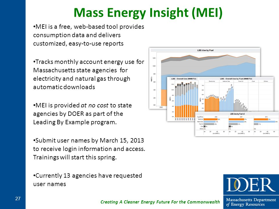 Mass Energy Insight (MEI)