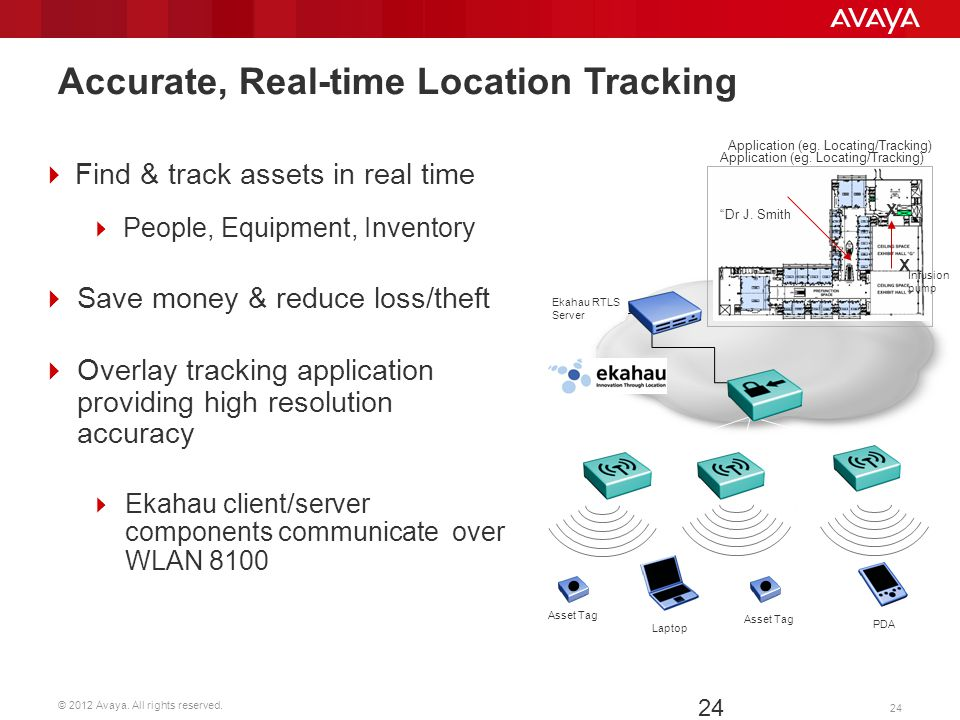 Accurate, Real-time Location Tracking