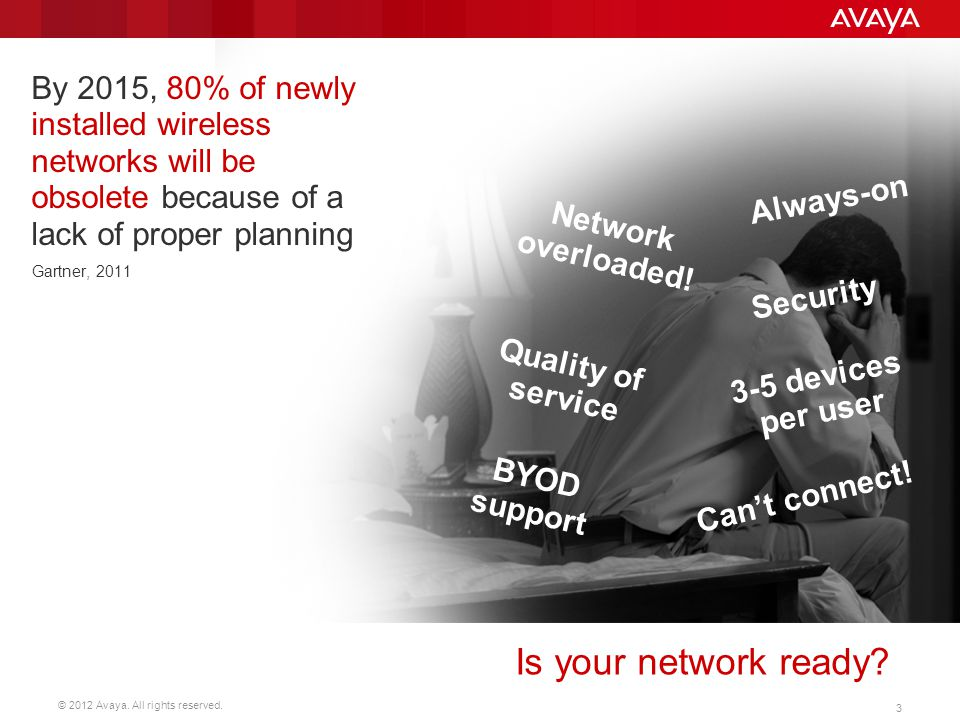 By 2015, 80% of newly installed wireless networks will be obsolete because of a lack of proper planning