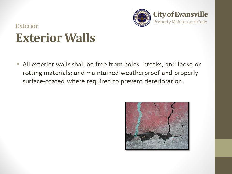 Exterior Exterior Walls
