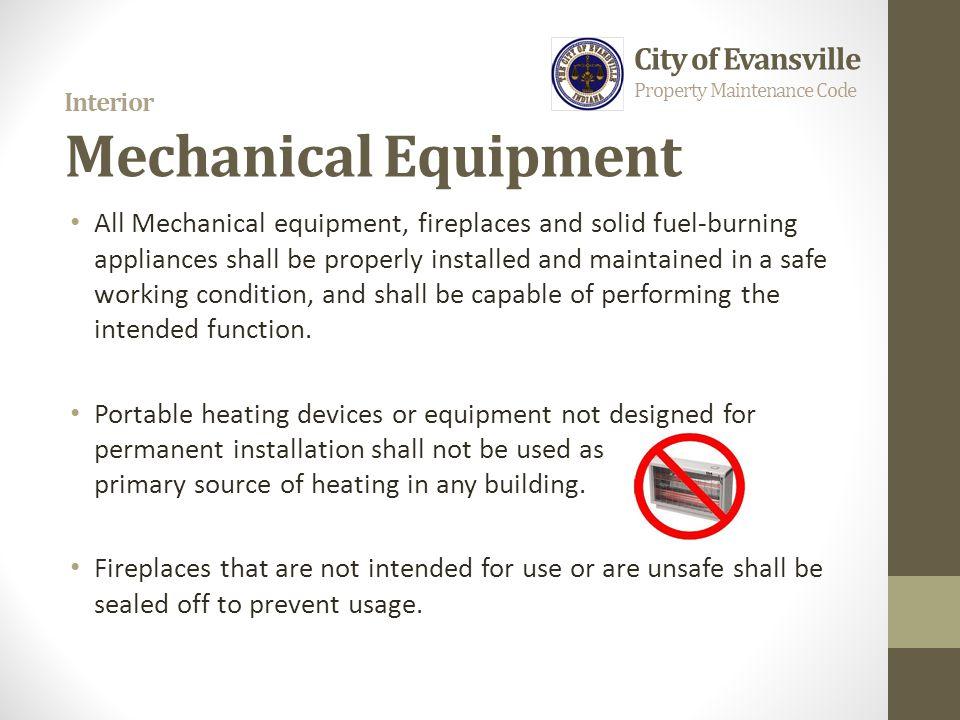 Interior Mechanical Equipment