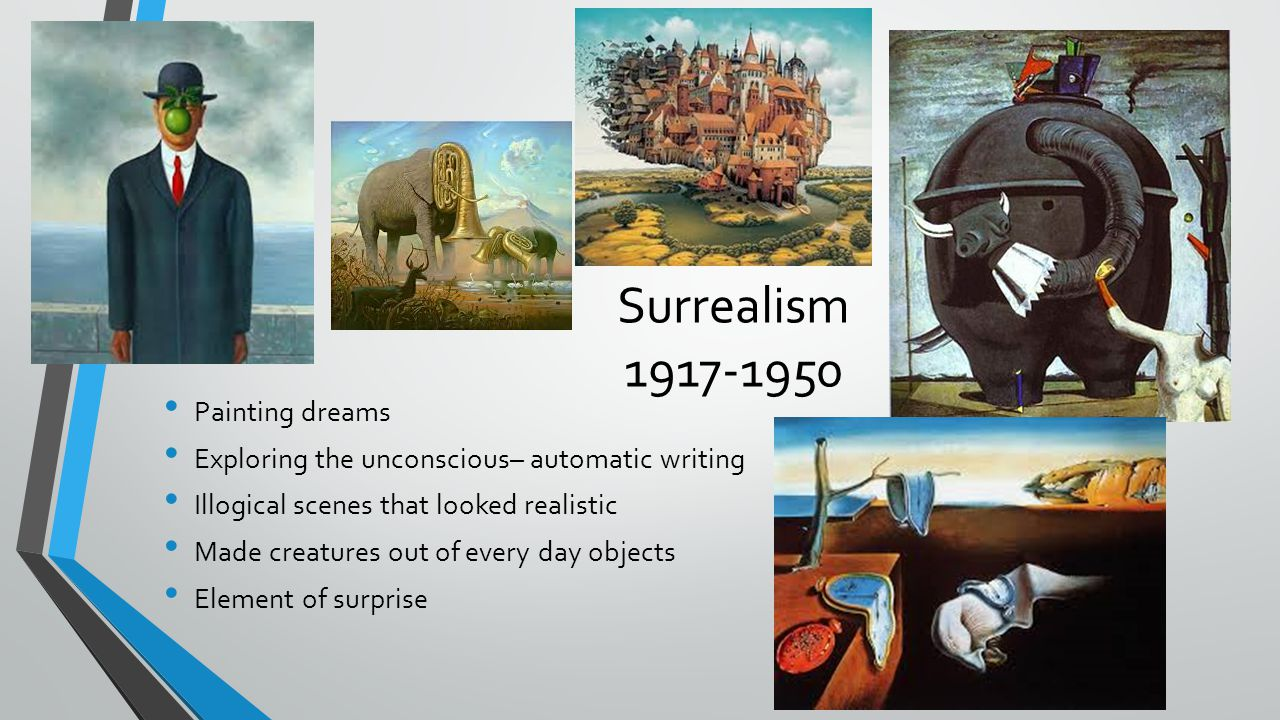 Surrealism 1917-1950 Painting dreams