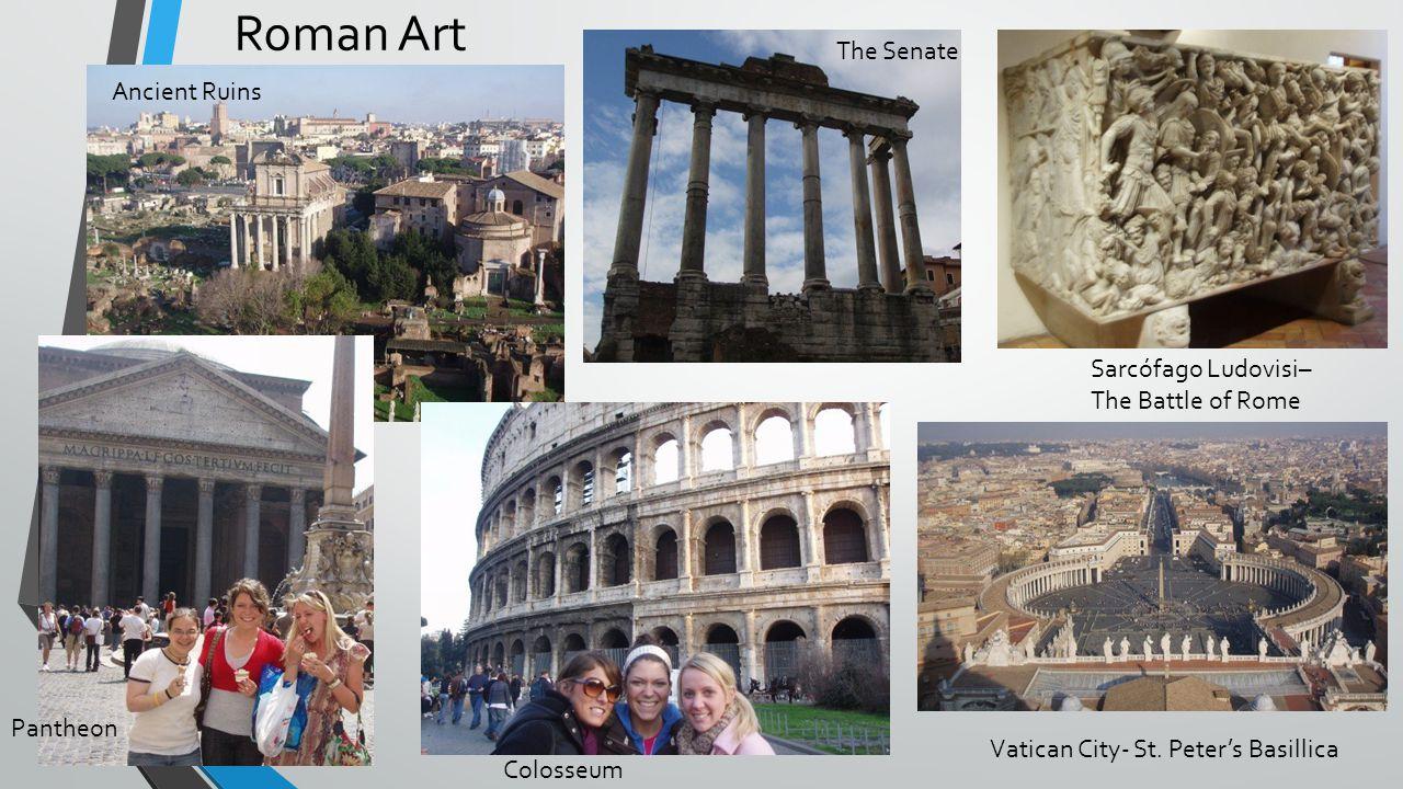 Roman Art The Senate Ancient Ruins Sarcófago Ludovisi–