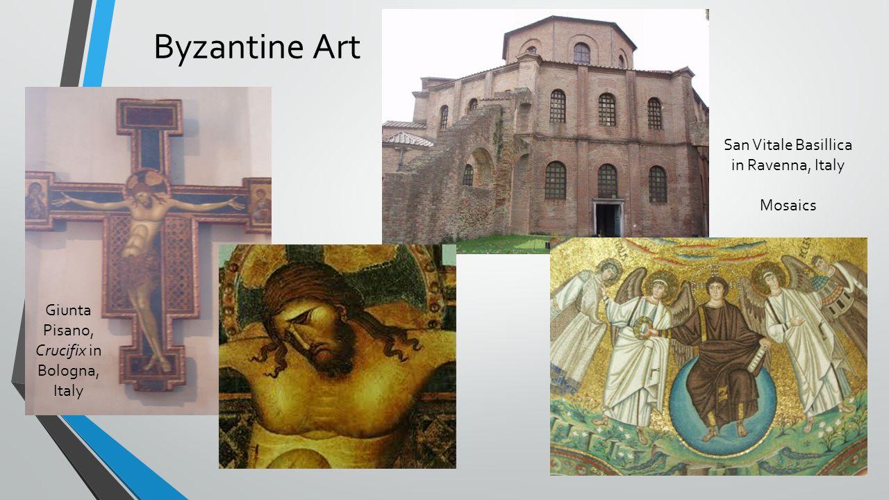 Byzantine Art San Vitale Basillica in Ravenna, Italy Mosaics