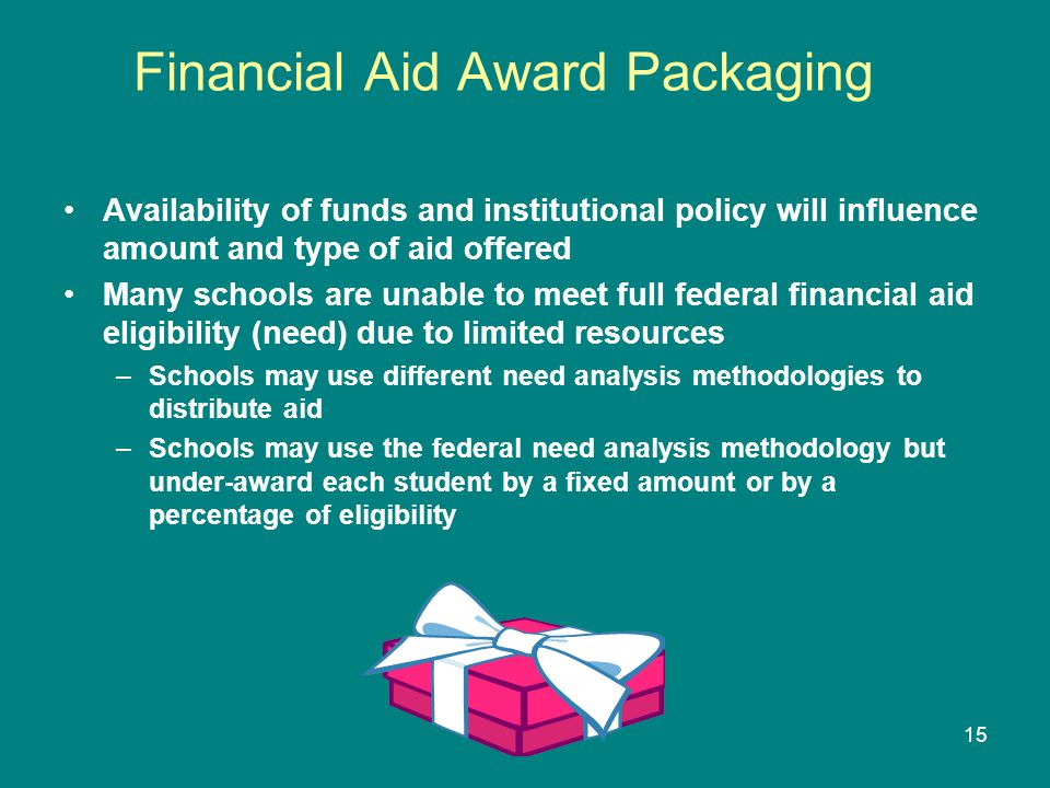 Financial Aid Award Packaging
