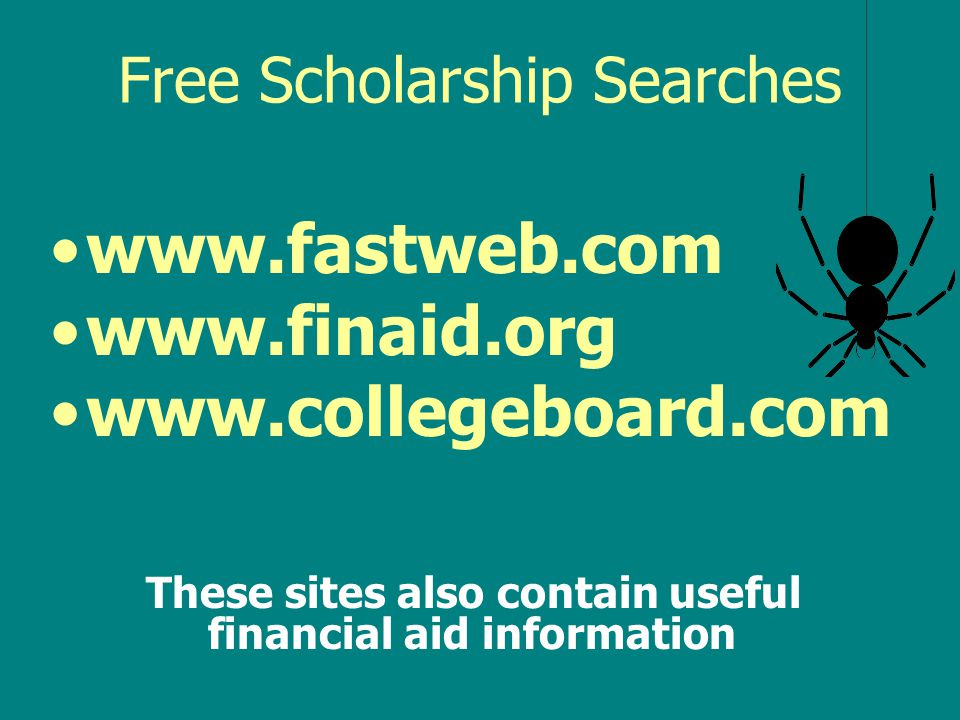 Free Scholarship Searches