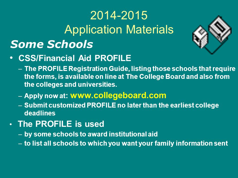 2014-2015 Application Materials