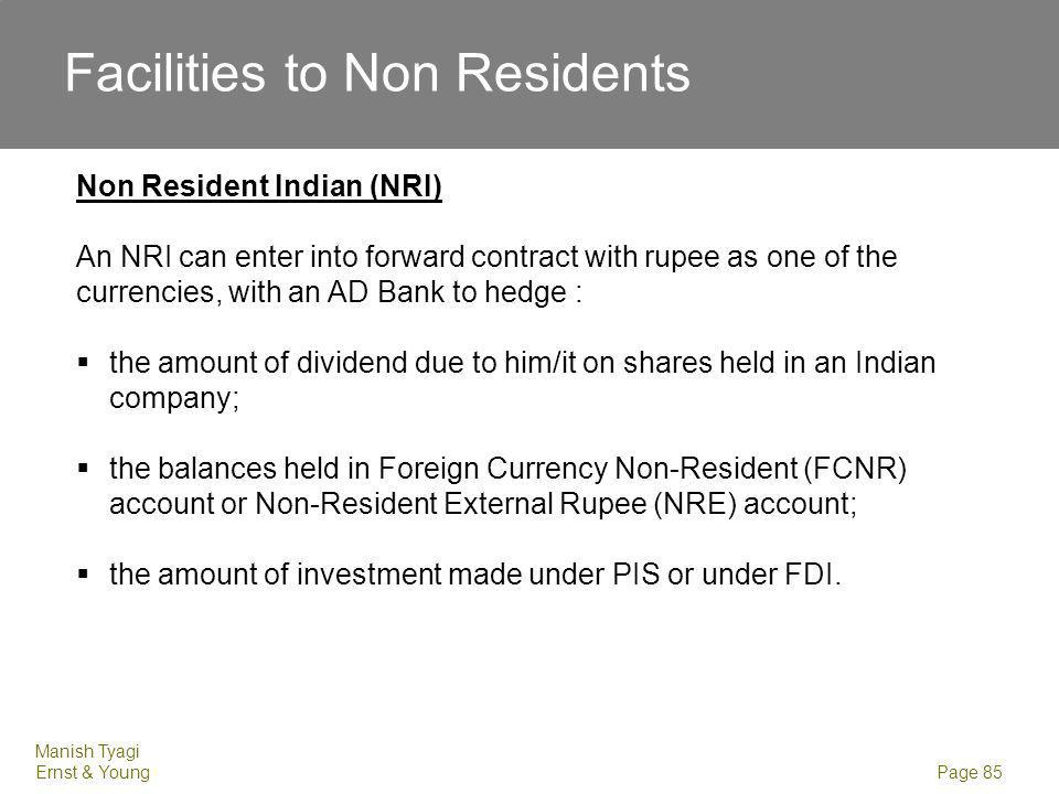 Facilities to Non Residents