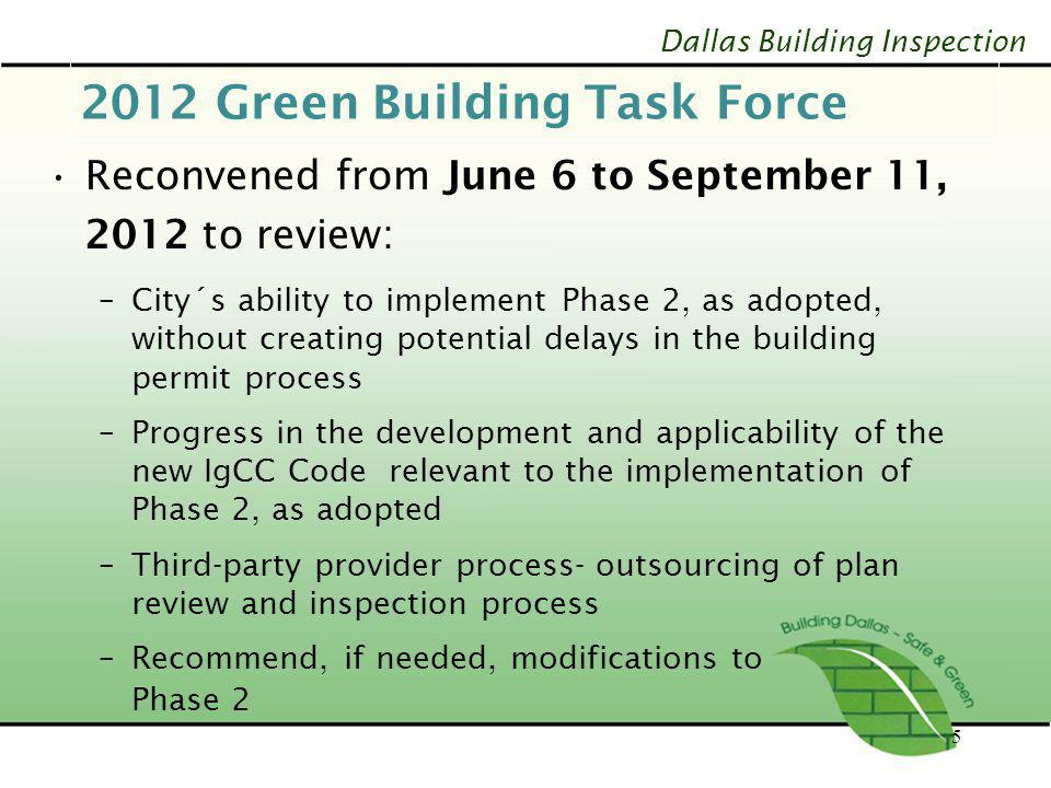 2012 Green Building Task Force