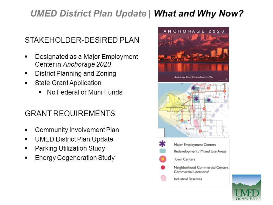 UMED District Plan Update | What and Why Now