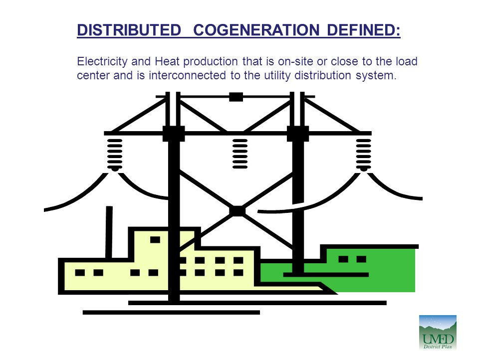DISTRIBUTED COGENERATION DEFINED: