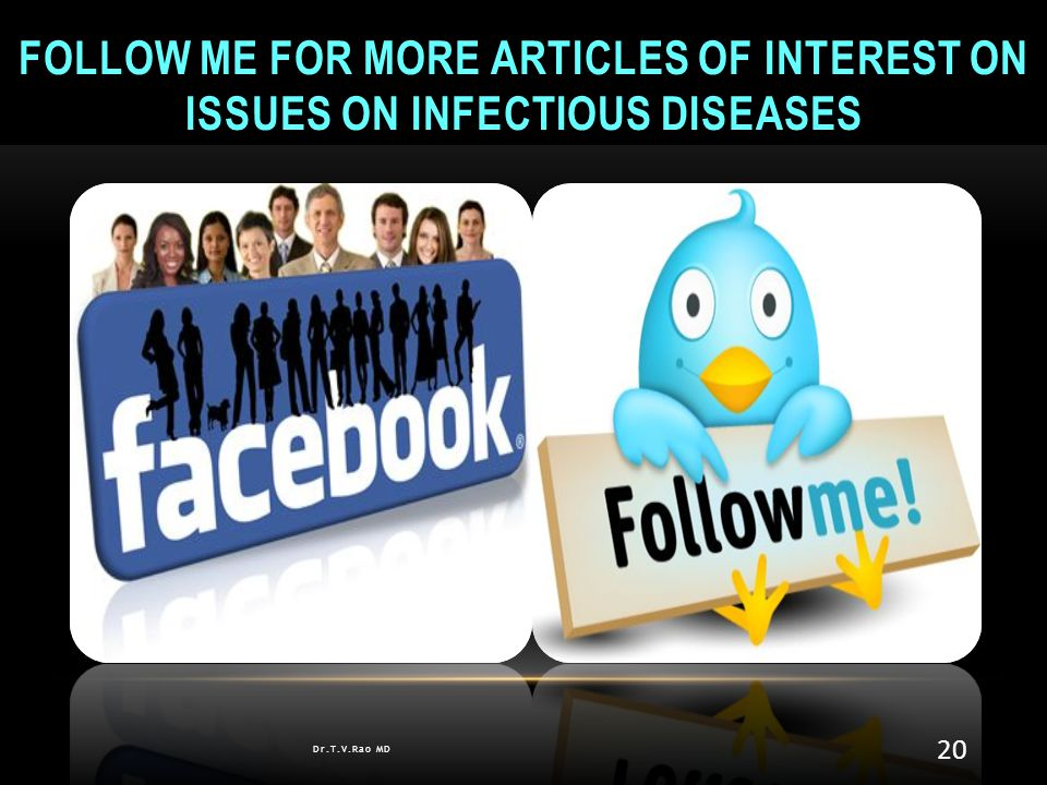 Follow me for more articles of interest on issues on Infectious diseases