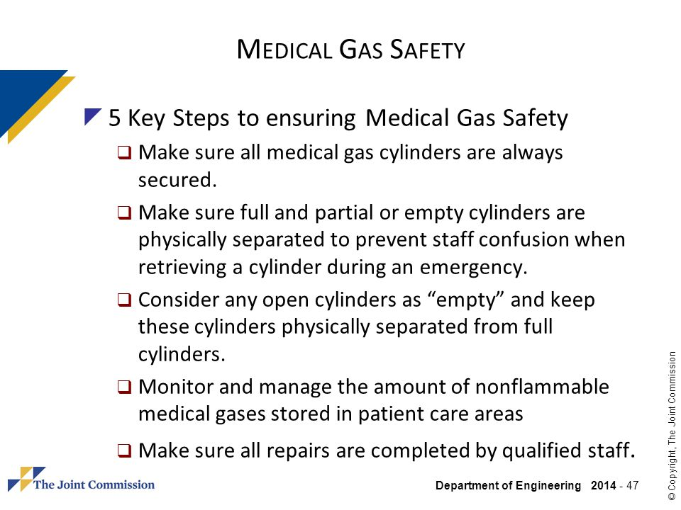 Medical Gas Safety 5 Key Steps to ensuring Medical Gas Safety