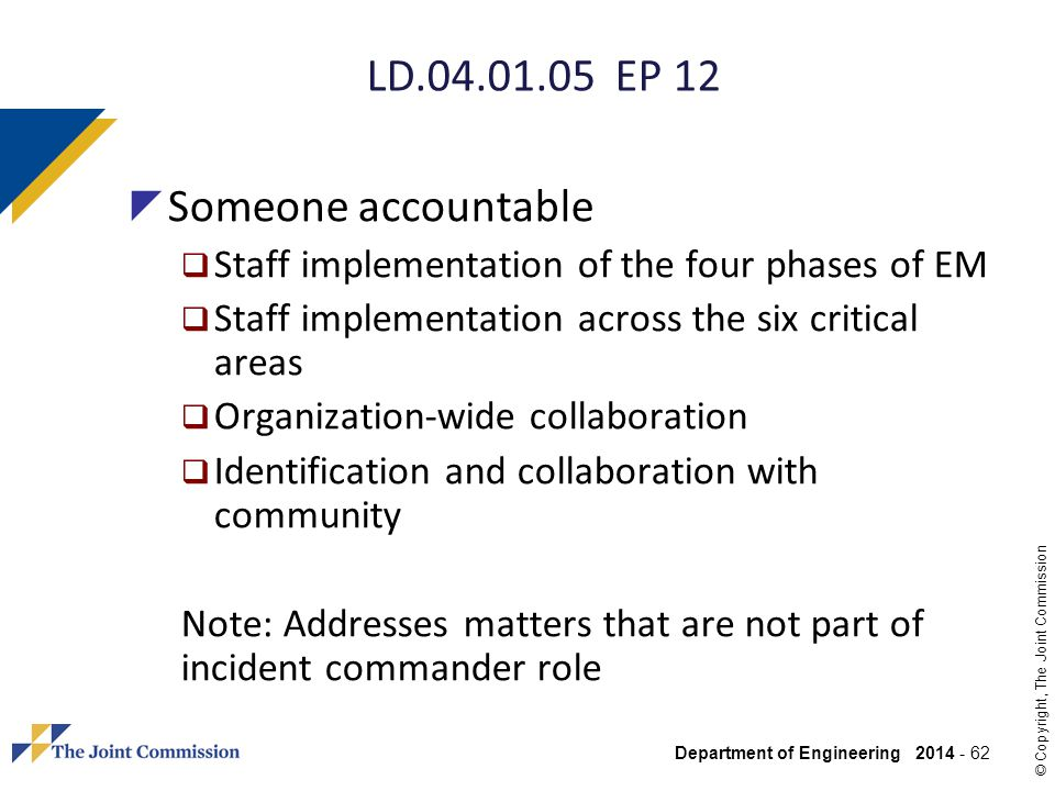 LD EP 12 Someone accountable