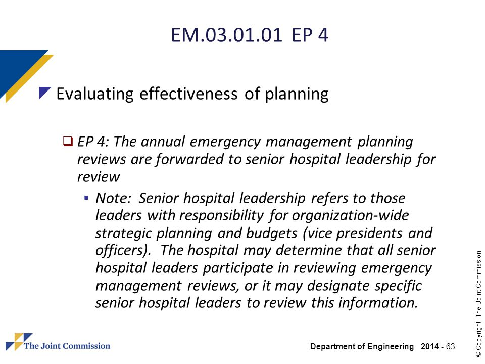 EM EP 4 Evaluating effectiveness of planning