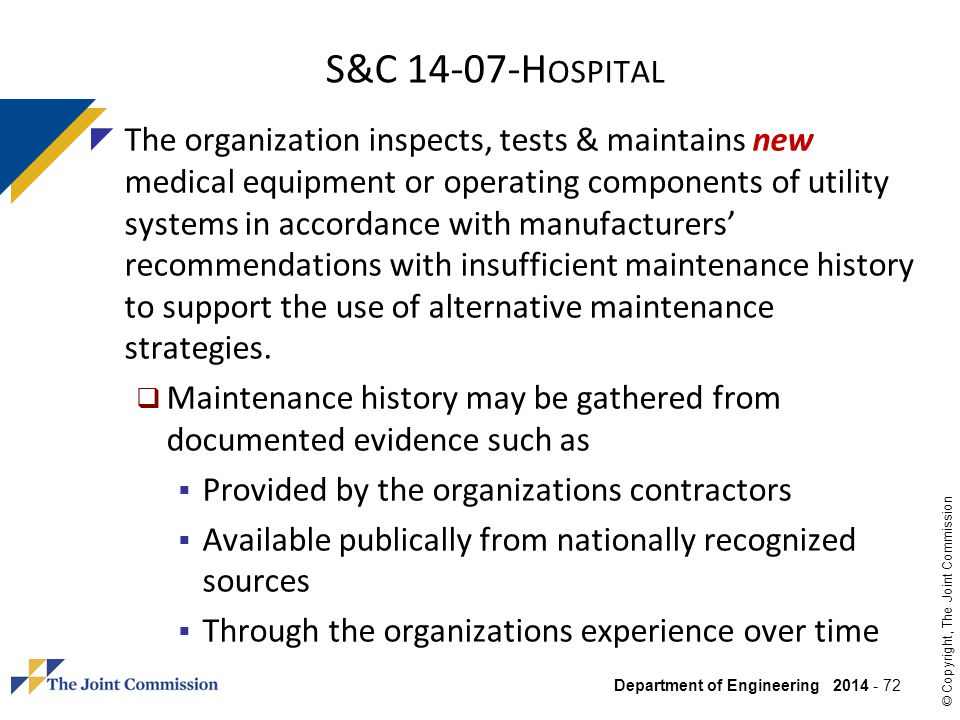 S&C 14-07-Hospital