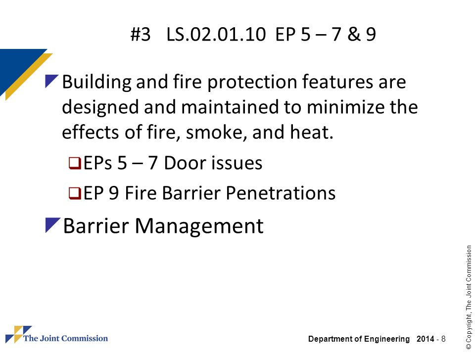 Barrier Management #3 LS EP 5 – 7 & 9
