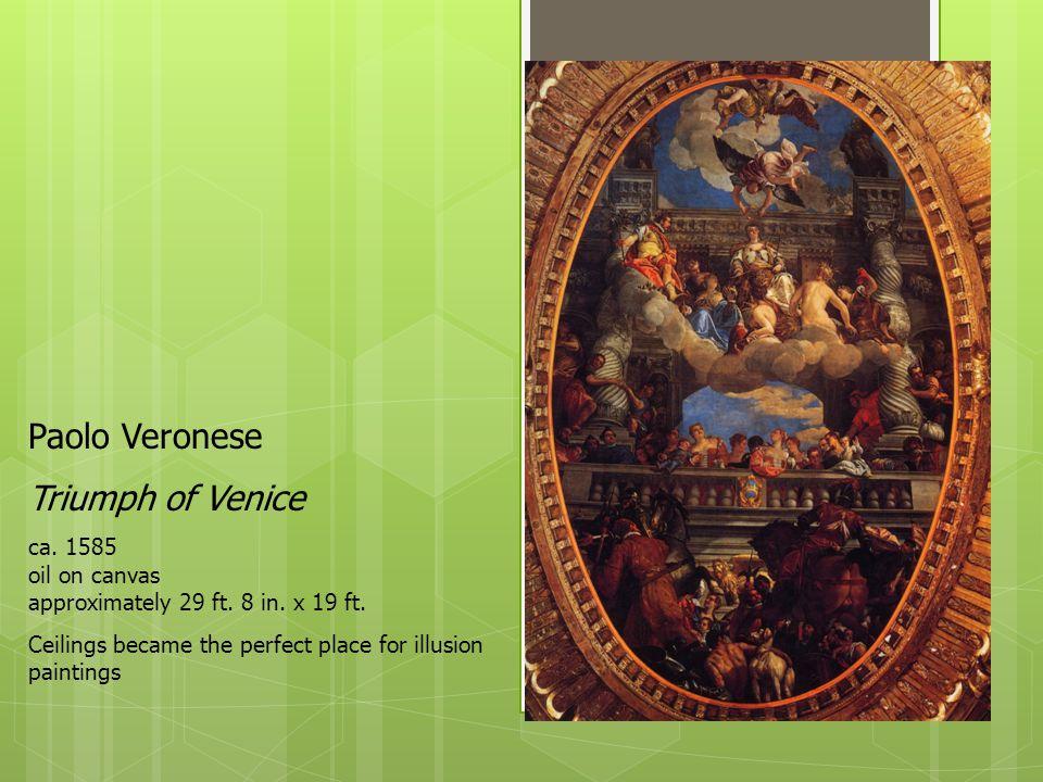 Paolo Veronese Triumph of Venice