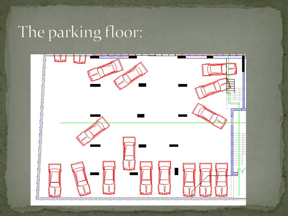 The parking floor: