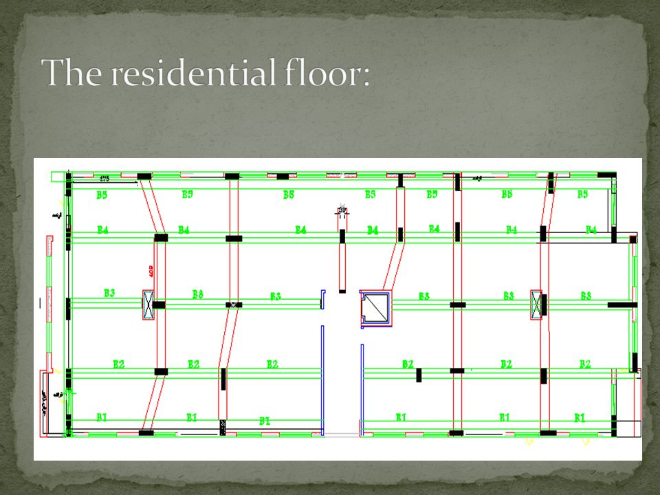 The residential floor: