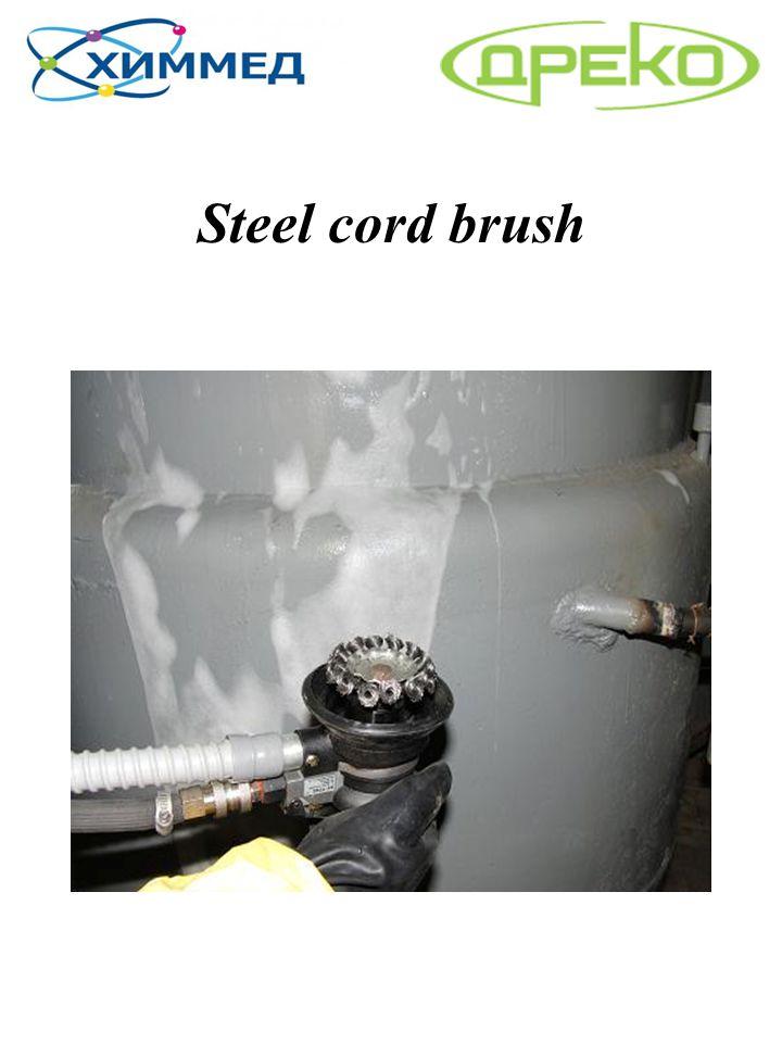 Steel cord brush