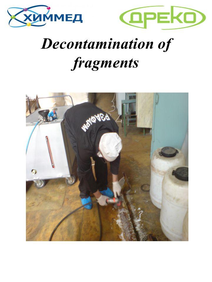 Decontamination of fragments