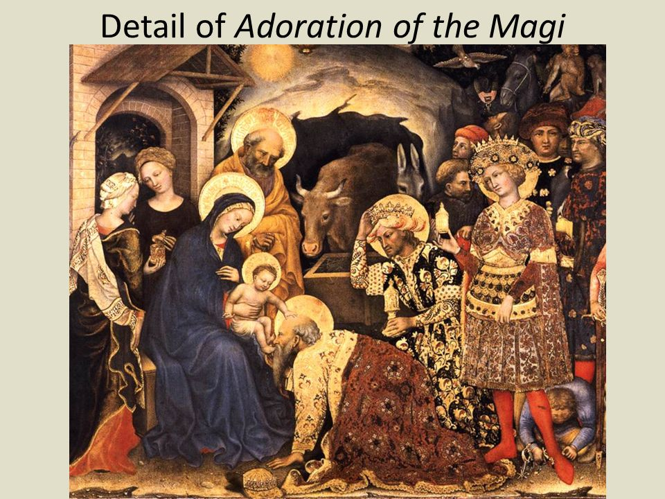 Detail of Adoration of the Magi