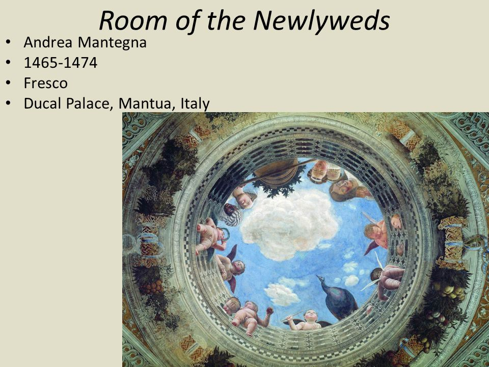 Room of the Newlyweds Andrea Mantegna 1465-1474 Fresco