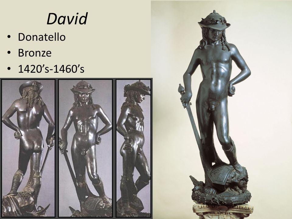 David Donatello Bronze 1420's-1460's
