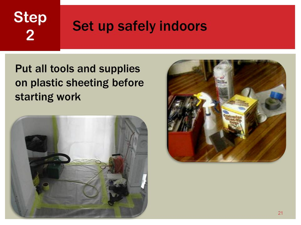 Lead-Safe Work Practices for Renovation, Repair, and Painting