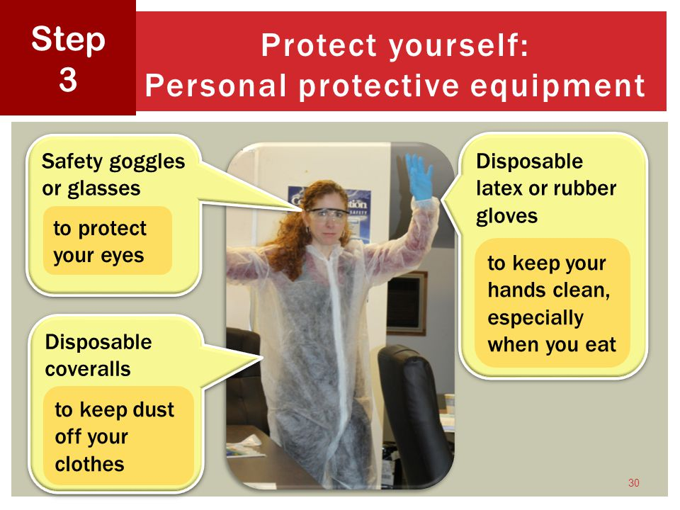 Protect yourself: Personal protective equipment