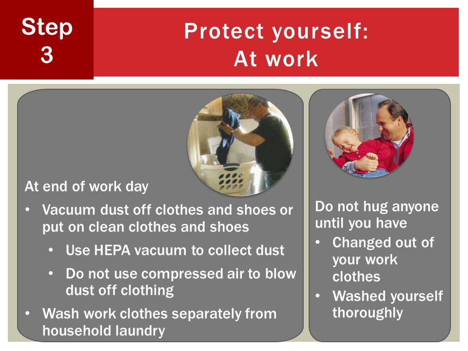 Protect yourself: At work