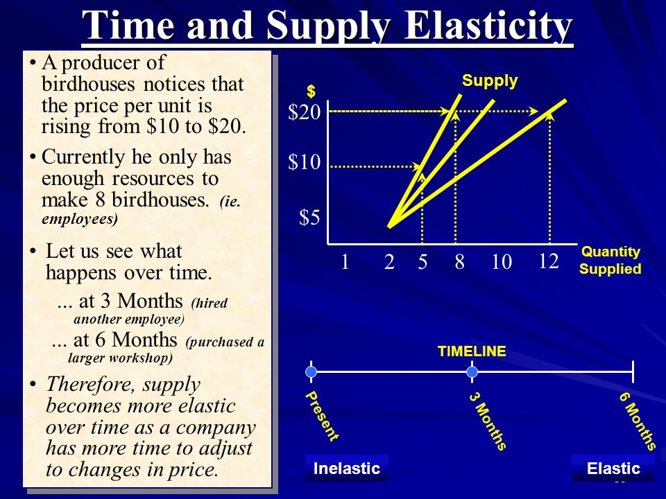 Time and Supply Elasticity