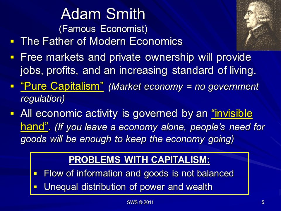 Adam Smith (Famous Economist)