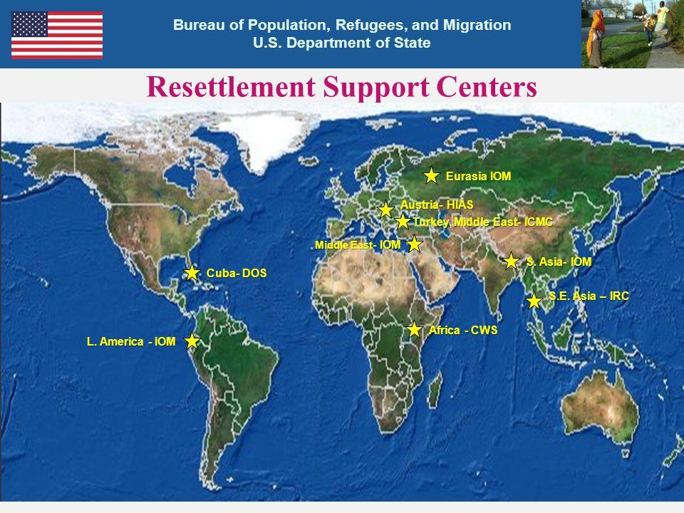 Resettlement Support Centers