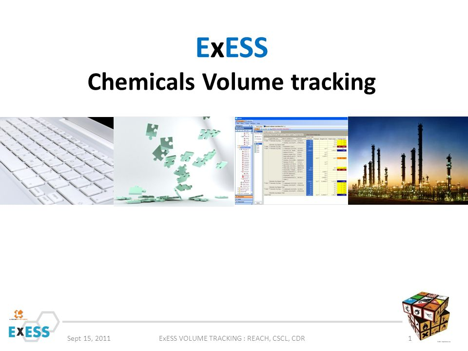 ExESS Chemicals Volume tracking
