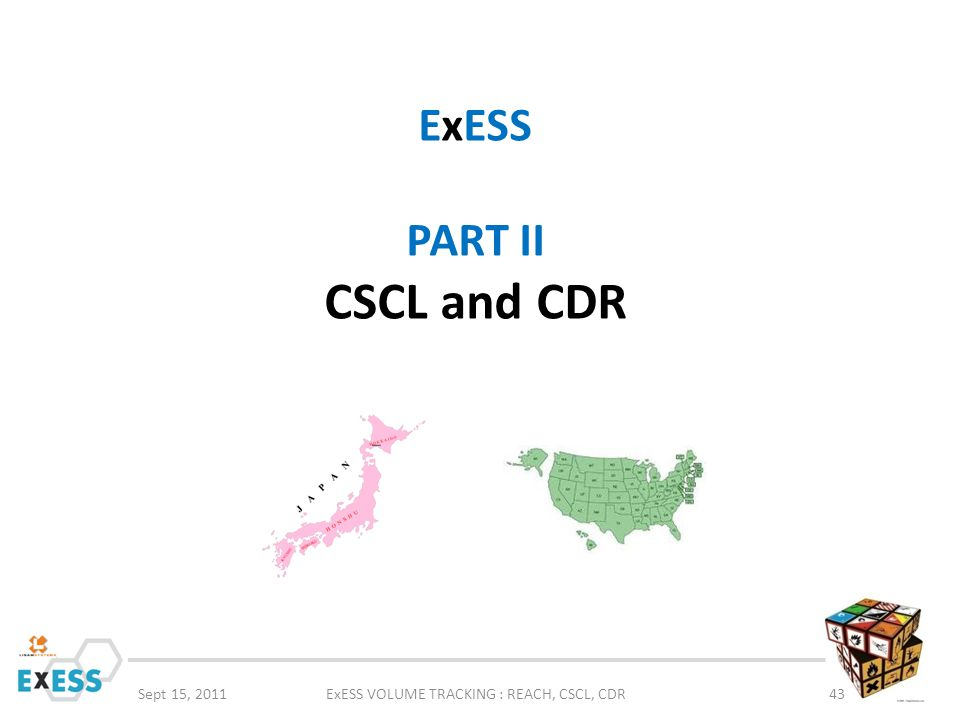 ExESS PART II CSCL and CDR