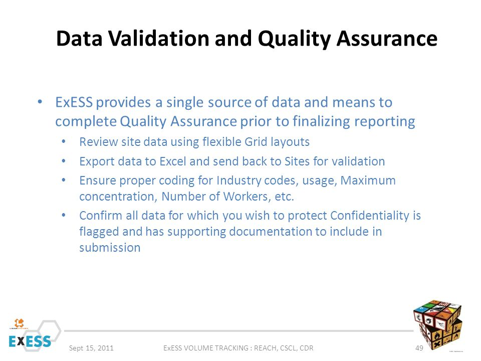 Data Validation and Quality Assurance