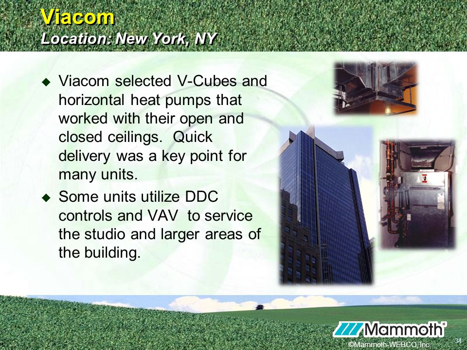 Viacom Location: New York, NY