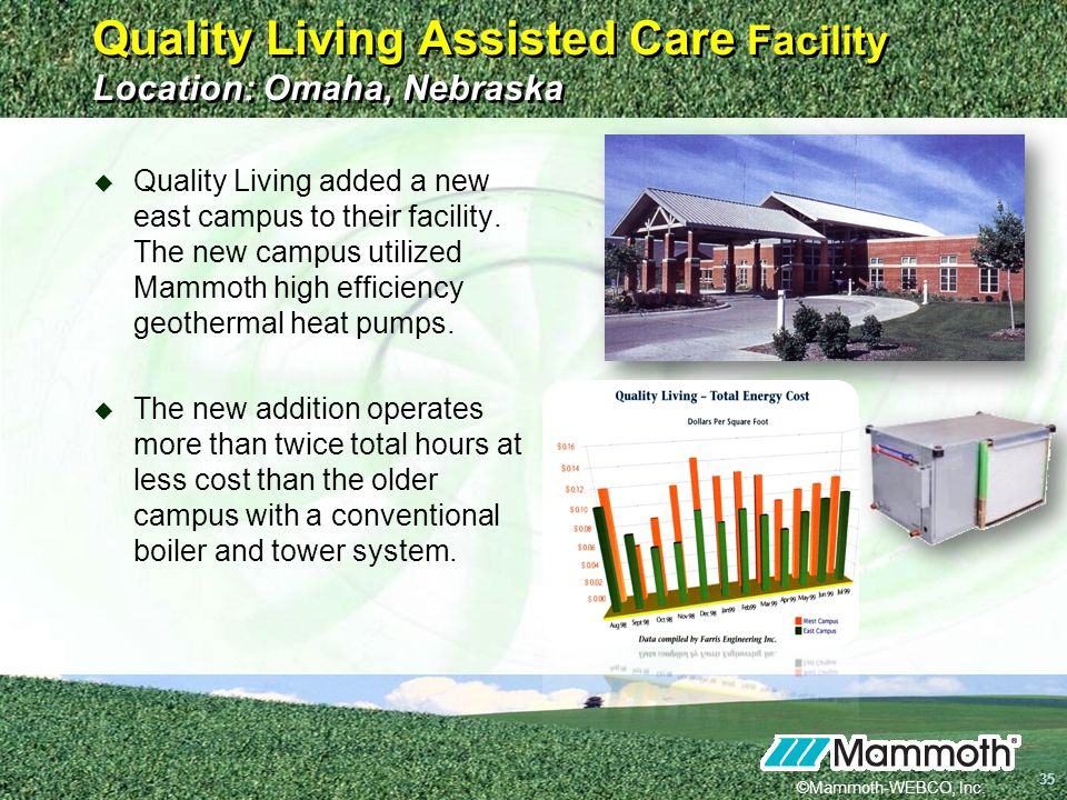 Quality Living Assisted Care Facility Location: Omaha, Nebraska