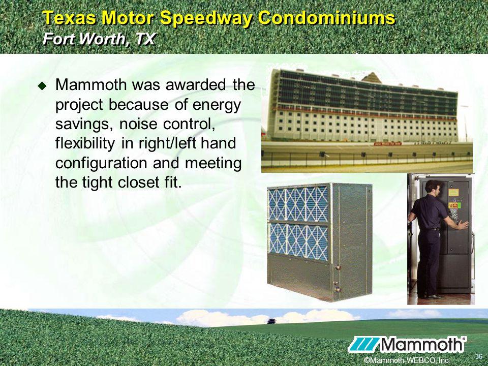 Texas Motor Speedway Condominiums Fort Worth, TX