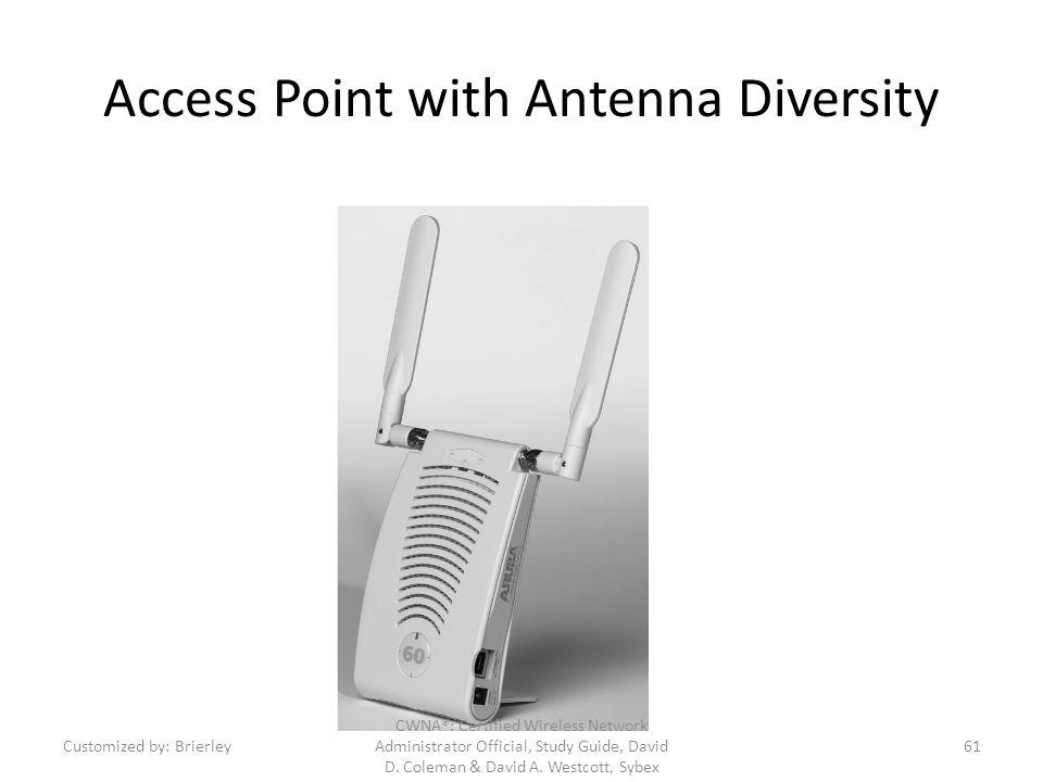 Access Point with Antenna Diversity