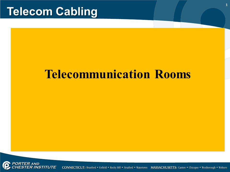 Telecommunication Rooms