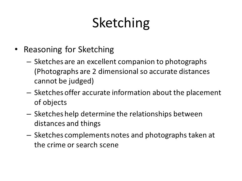Sketching Reasoning for Sketching