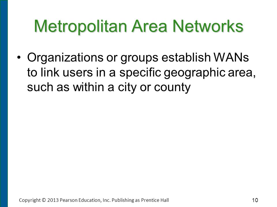 Personal Area Networks