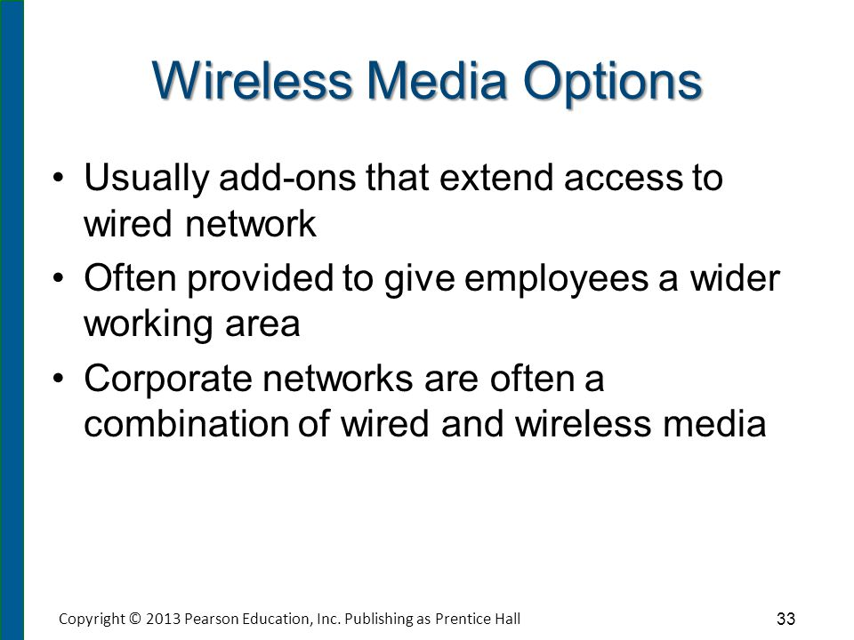 Comparing Transmission Media