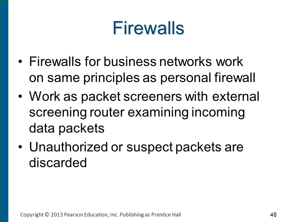 Network Firewall Layout