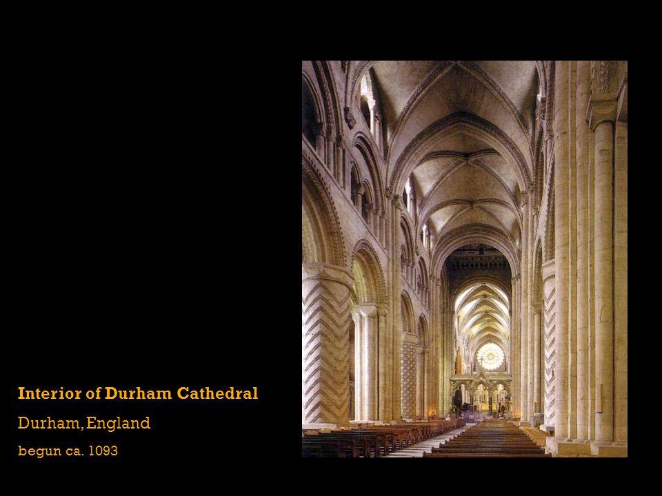 Interior of Durham Cathedral Durham, England