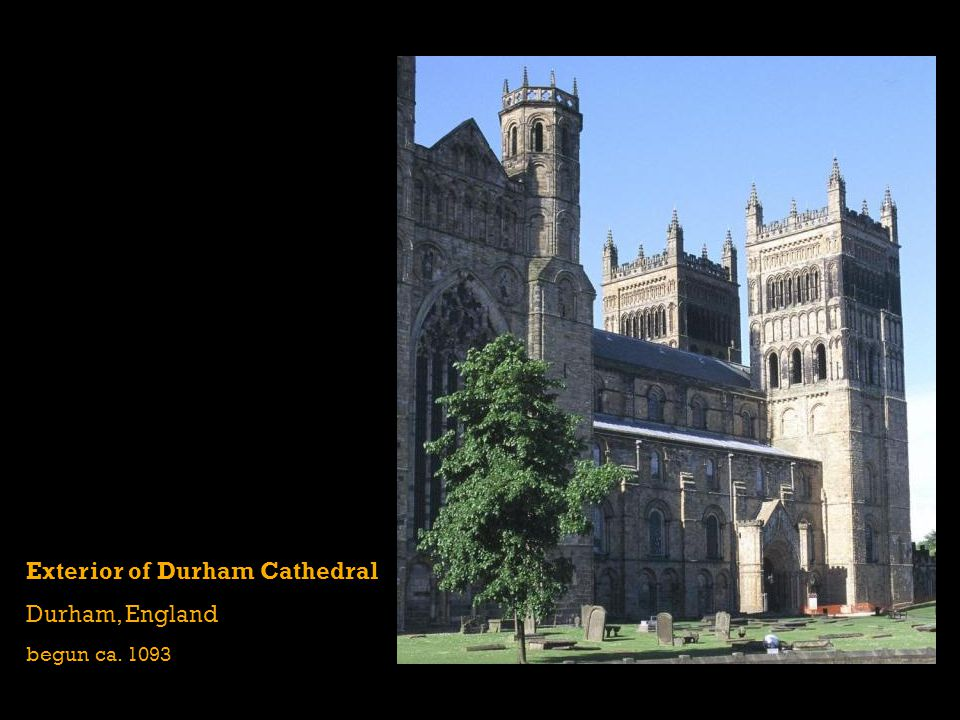 Exterior of Durham Cathedral Durham, England